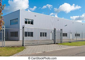 industrial, edificio