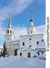 Holy Bogolyubovo Monastery, Russia - Church of the Nativity...