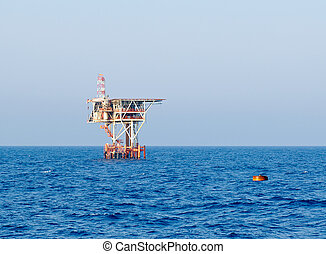Offshore installation - Stan alone offshore installation at...