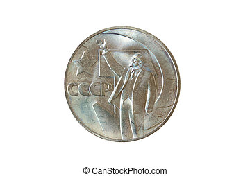 Lenin Coin - Russian coin 1967 celebrating 50 years of the...