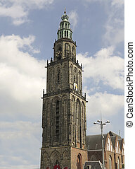 Martinitower in Groningen - Famous Martinitower in Groningen...