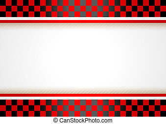 Race horizontal background, vector illustration template...