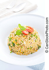 Asian Chinese egg fried rice - Chinese egg fried rice, Asian...