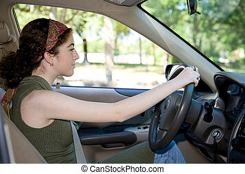 Teen Behind the Wheel