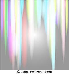 Rainbow nothern lights