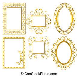 黃金, 框架,  3