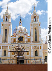 Basilica of St. Francis in Caninde, Ceara State, Brazil
