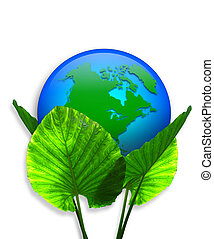 Green Earth Ecology graphic - Image and Illustration...