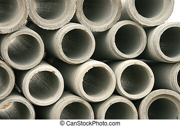 Abstract Concrete Pipe