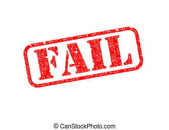 Fail Stamp - A 'Fail' Stamp over a white background.