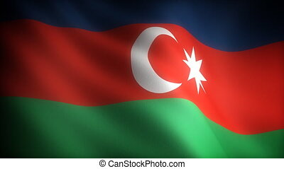 Flag of Azerbaijani
