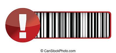warning barcode UPC