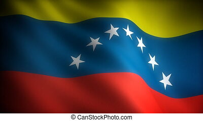 Flag of Venezuela seamless