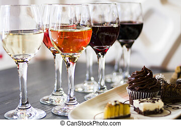 Wine and Chocolates - Tasting of wine and pattie chocolate...