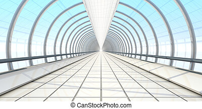endless vanishing walkway