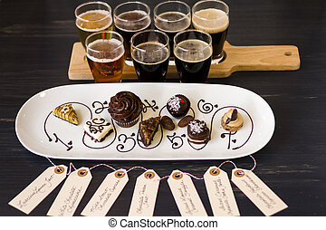 Beer and Chocolates - Tasting of beer and pattie chocolate...