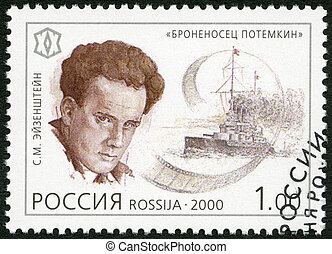 RUSSIA - CIRCA 2000: A stamp printed in Russia shows...