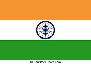 Flag of India. - National flag of India. Design for size 900...