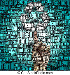 The ecology of recycle, reuse and reduce
