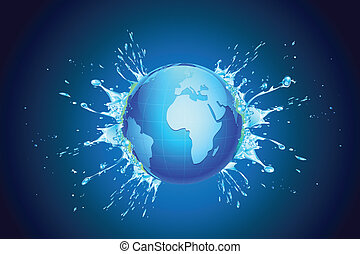 Splashig Earth