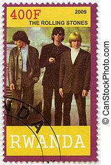 RWANDA - 2009: shows The Rolling Stones - RWANDA - CIRCA...