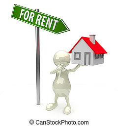 3D People house for rent