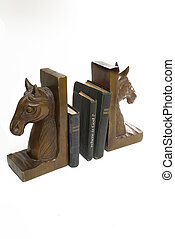 "bibles with book titled "" where is God?"" between bookends"