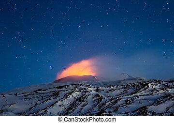 eruption etna 2013