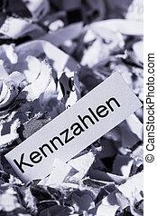 shredded paper figures