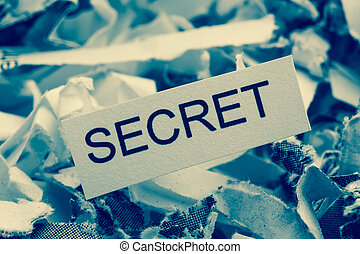 shredded paper secret - shredded paper tagged secret,...