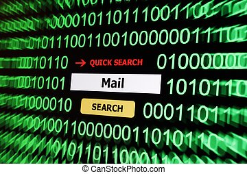 Search for mail