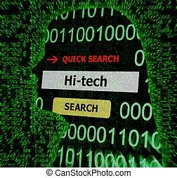 Hi - tech concept