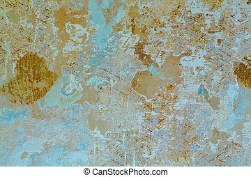 wall and wallpaper residue - remnants of wallpaper, photo...