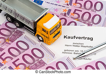 purchase contract for new truck - a contract to purchase a...