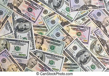 us dollar banknotes as background - notes from america us...