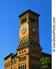Government Building Clock Tower