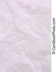 pink crumple paper