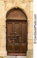 Rustic French Door