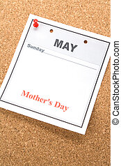 Mothers Day - Mother\\\'s Day, calendar date in May for...