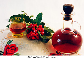 Extract of hawthorn - The infusion of blood-red hawthorn...