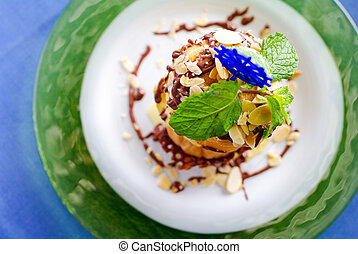 Chocolate and Vanilla Ice Cream