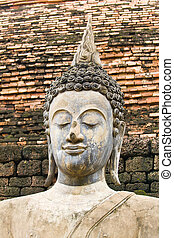 The old image of Buddha