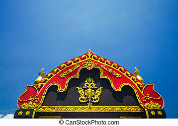 Traditional style of Thai