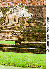 An image of Buddha in Sukhothai Historic Park
