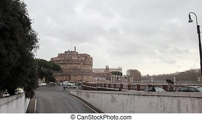 Castle of Saint Angelo in Rome - the Castle of Saint Angelo...