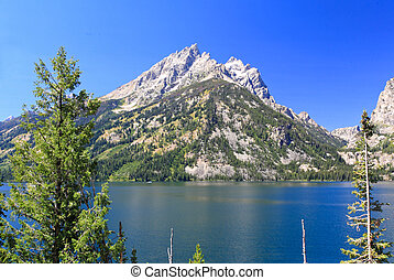 The Jackson Lake in Grand Teton - The Jachson Lake in Grand...