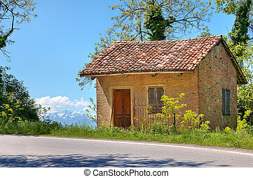 Small rural house. Piedmont, Italy.