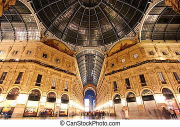 Galleria Vittorio Emanuele - Milan - Italy