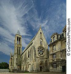 Saint Vincent Abbey, france, senlis - france, senlis,...