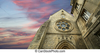 france, senlis, picardy, oise--- Saint Vincent Abbey was...